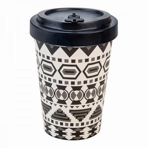 Tea & Coffee to go - Aztec Black and White  400 ml