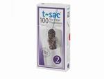 T-Sac 2 voor potjes van 0,5 tot 0,8 ltr.  100 Stuks