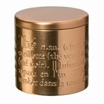 Theeblik Elegant Koper 125 gram