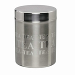 Theeblik 'Tea' engraved 200 gram