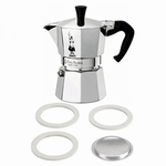 Bialetti Moka Filter & Ring - 3 Kops